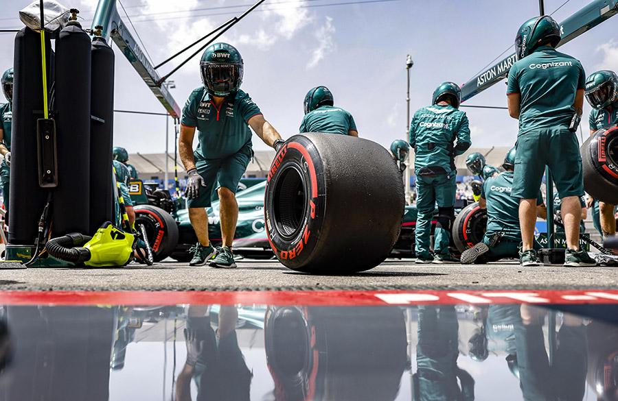 Pneus são um assunto de constante polêmica na F1