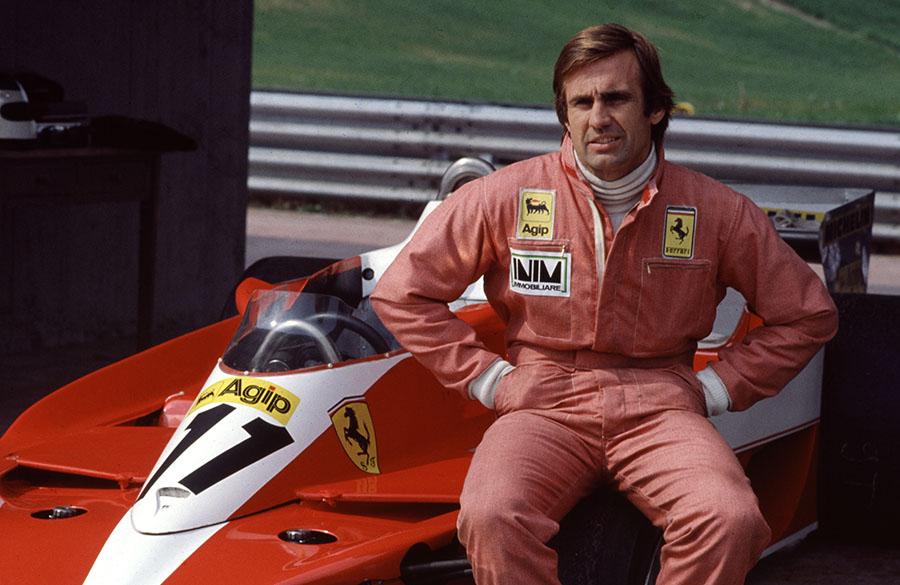Reutemann correu por equipes importantes da F1 como Brabham, Ferrari, Lotus e Williams