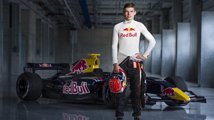 Red Bull anunciou Verstappen quando ele tinha apenas 16 anos