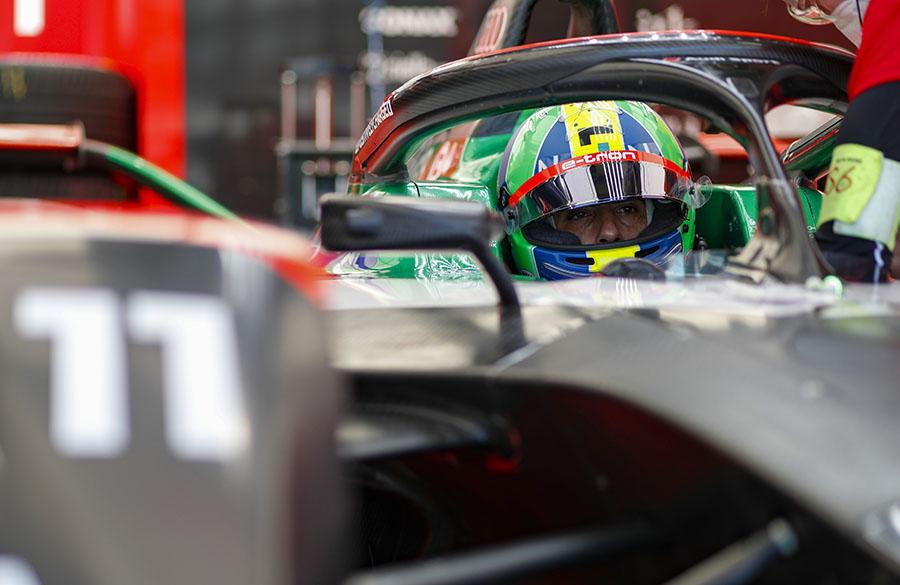 Lucas Di Grassi, da Audi, na Fórmula E