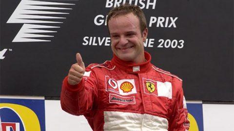 Imagem sobre O dia em que o padre irlandês invadiu a F1 em show de Barrichello