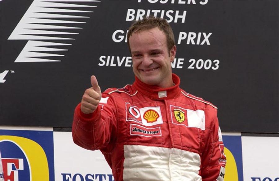GP da Grã-Bretanha de 2003 foi uma das melhores apresentações de Barrichello na F1
