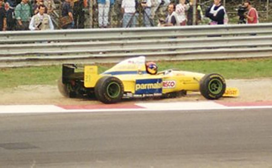 Falhas mecânicas e falta de desempenho: a vida de Diniz e Moreno na Forti Corse foi difícil em 1995