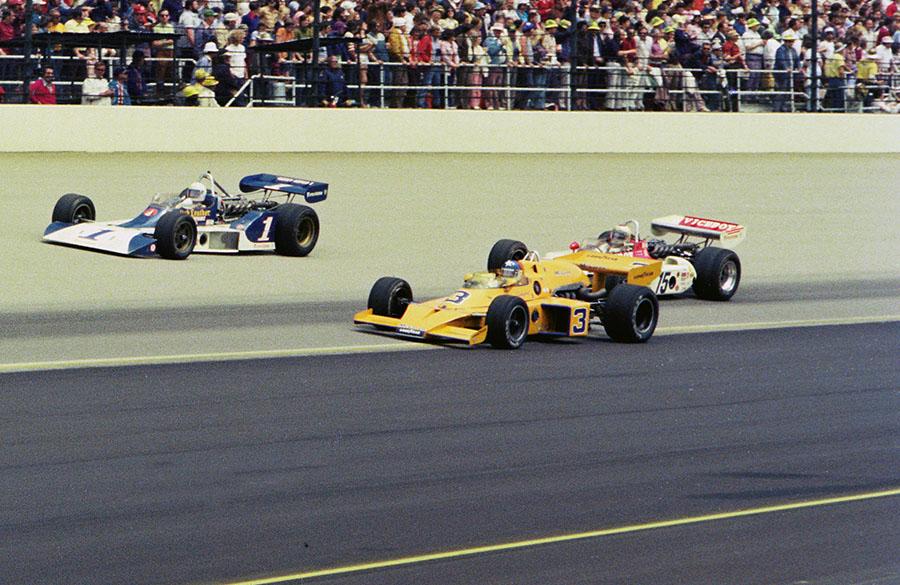McLaren foi uma das grandes equipes e construtoras da Indy nos anos 70