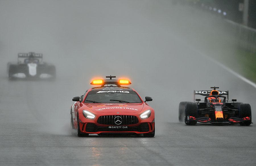 GP da Bélgica de 2021 entra para a história como o mais curto da história