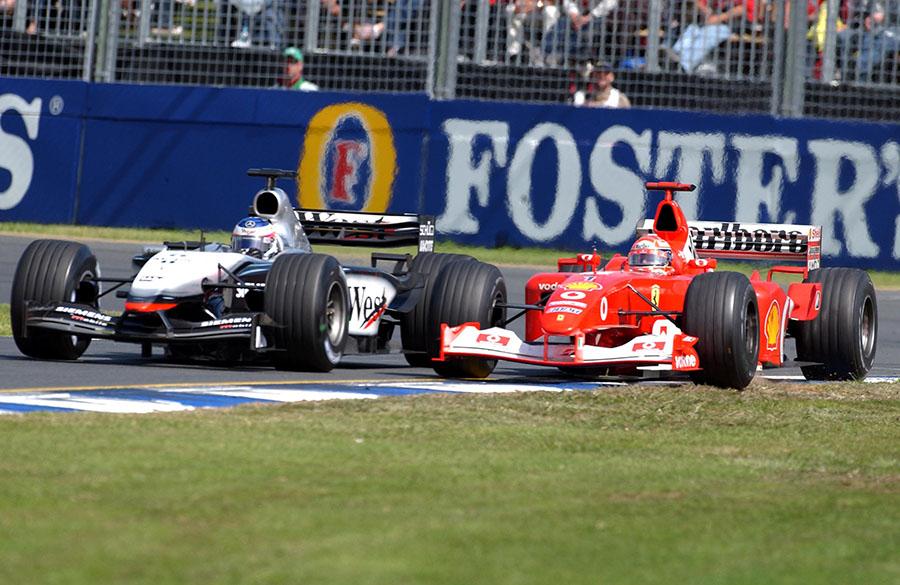 Entenda o que deixou a temporada de 2003 da F1 tão acirrada