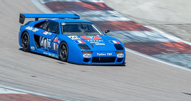 A Venturi teve relativo sucesso com GTs de pista nos anos 90