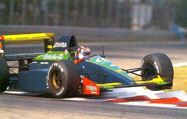 Aguri Suzuki foi uma boa surpresa na Larrousse com pontos