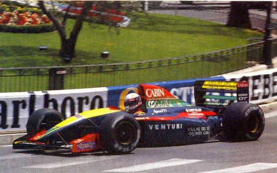 O envolvimento da marca Venturi não melhorou muito a situação da Larrousse